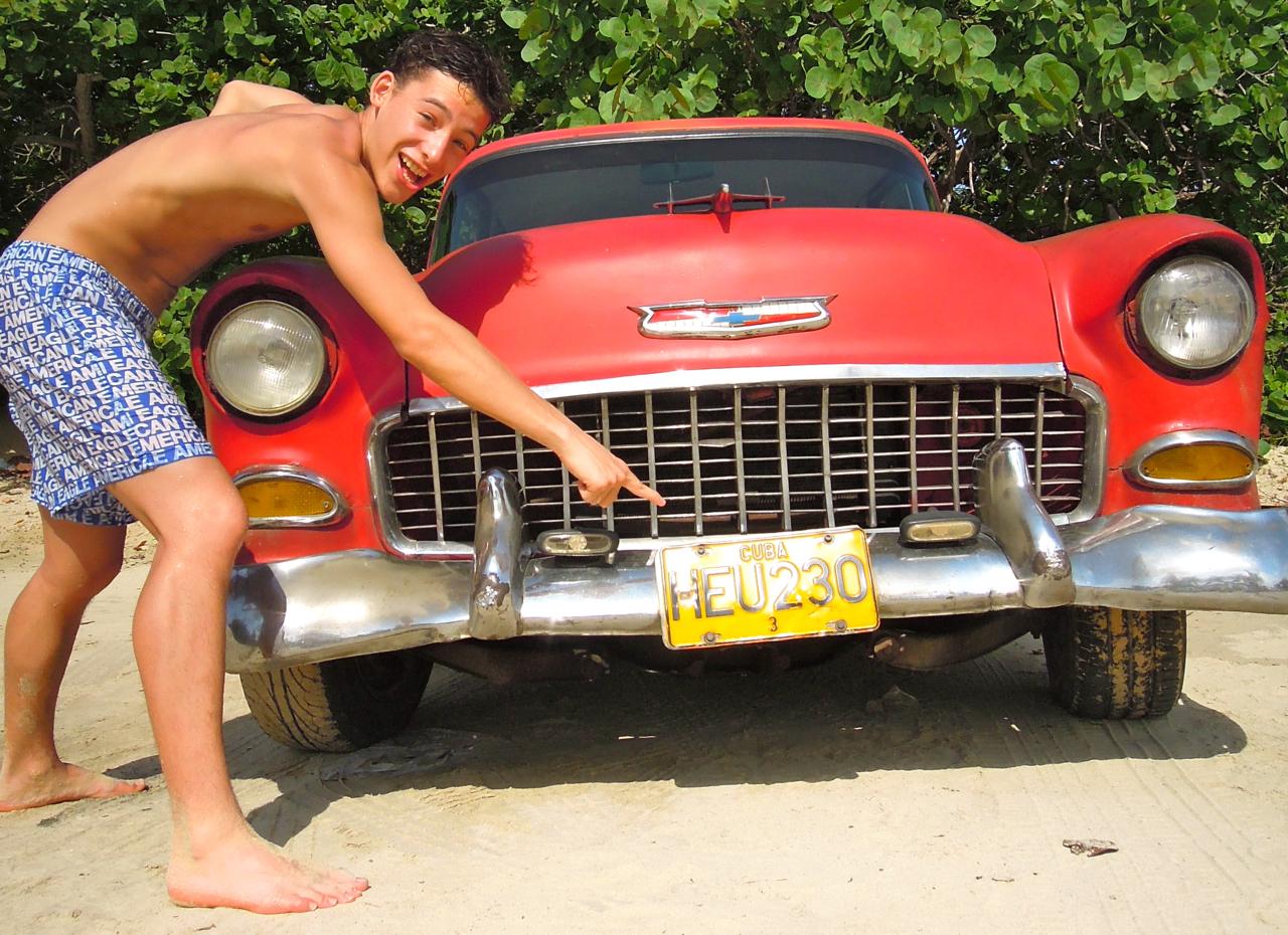 Voitures rétro de Cuba