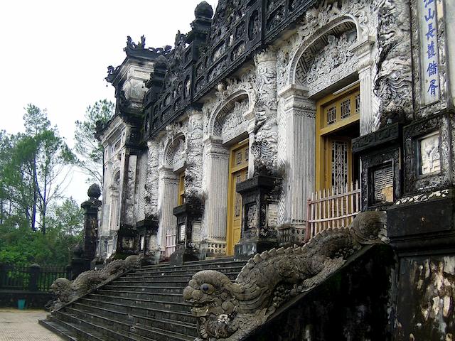 Tombe de Khai Dinh à Hue