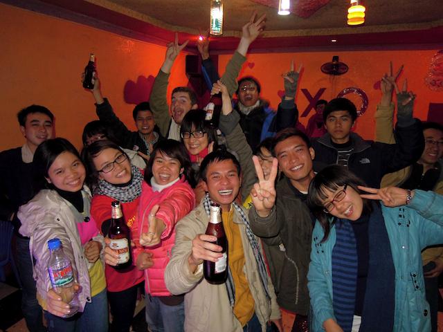Nouvel an à Moc Chau