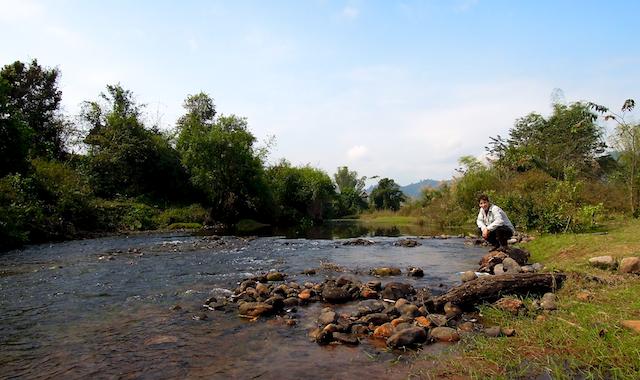 Ruisseau à Luang Namtha