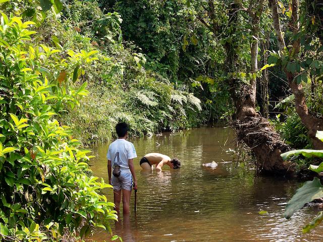 Essai à la pêche Lao-style