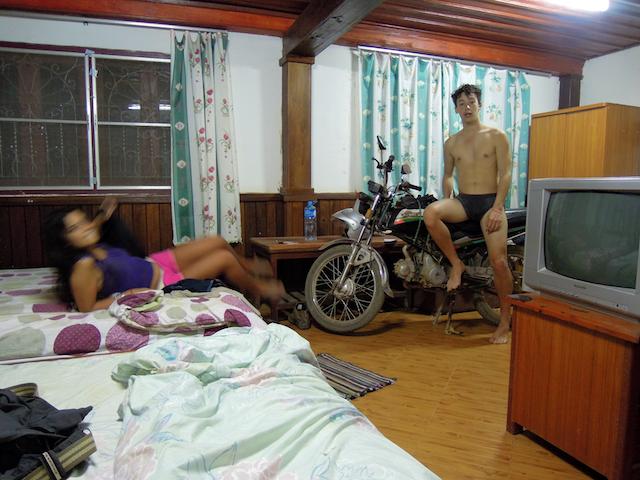 Guesthouse a Vang Vieng