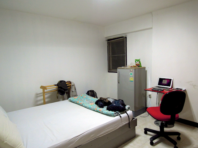 ma chambre à Rangsit