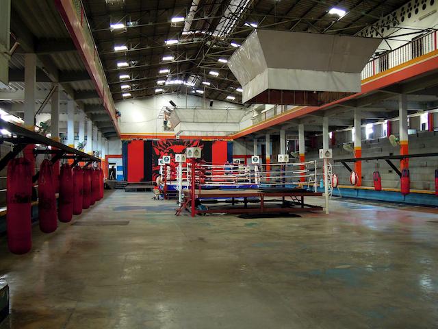 salle de boxe de rangsit