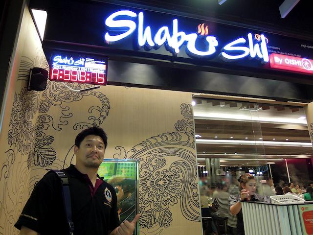 Shabushi Buffet avec Master Moa