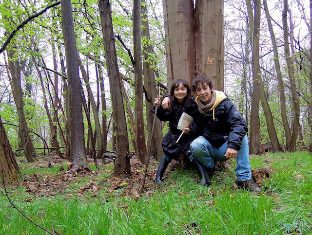 Potager et Cabane dans la forêt !