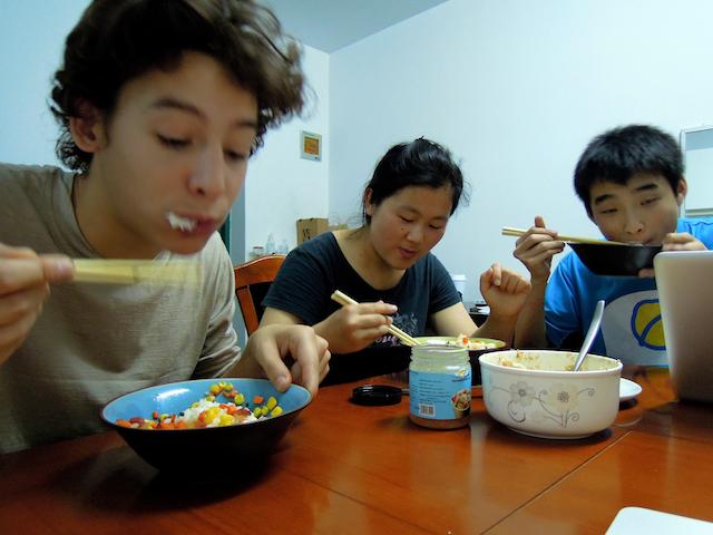 manger à la maison !