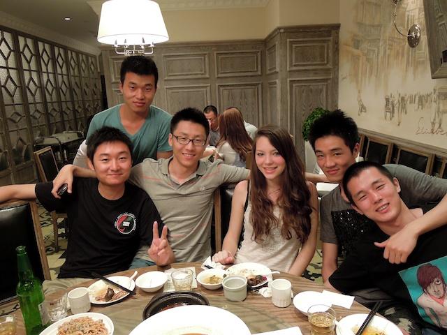 Un diner à Hangzhou