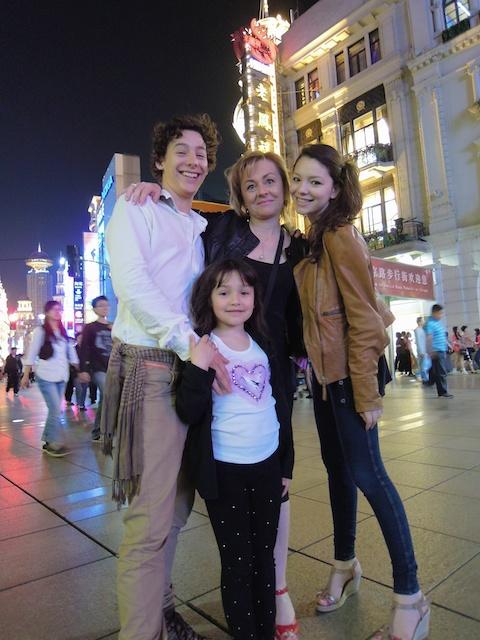 La famille à Shanghai