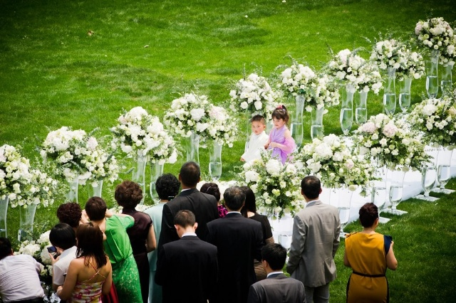Mariage Shanghai Allée