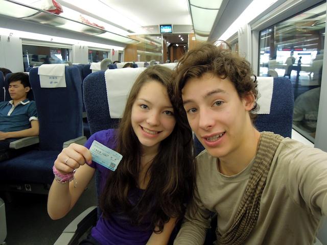 Train pour Hangzhou